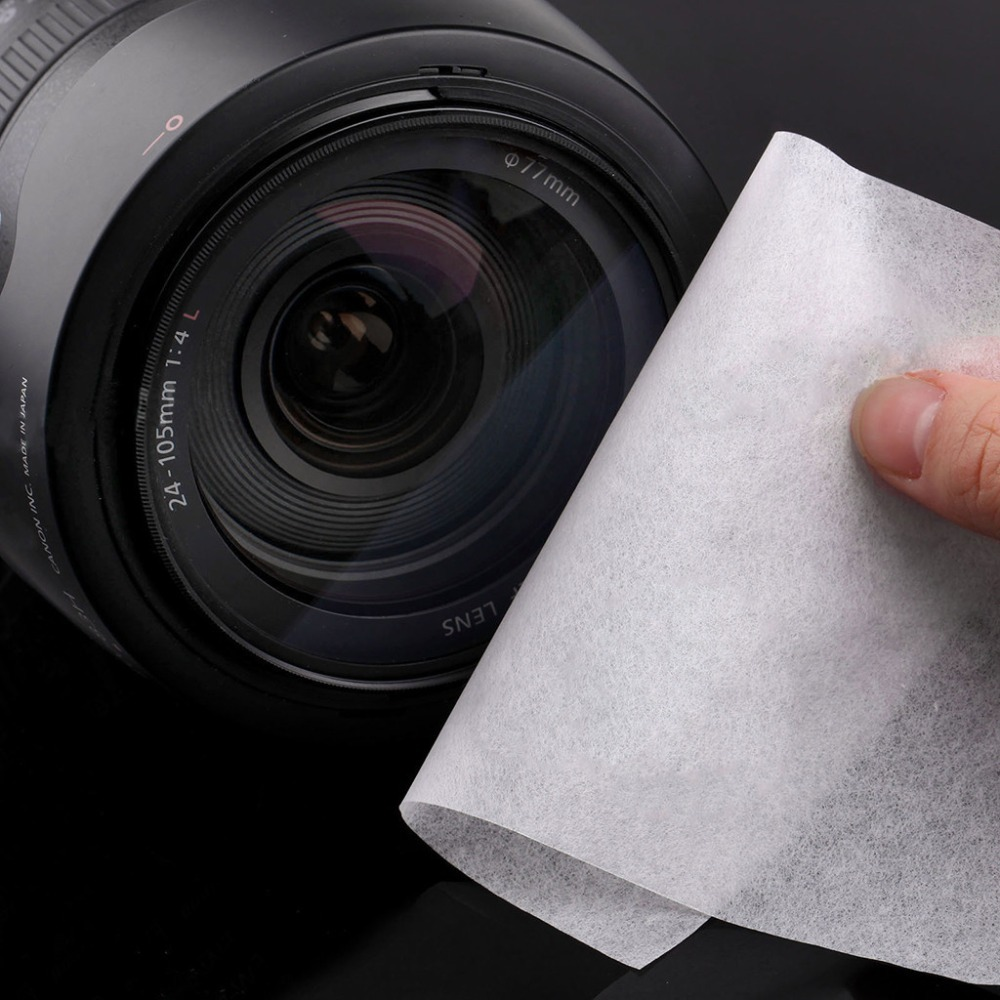 Camera Lens cleaning wet wipes