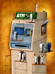 ATM machine cleaning