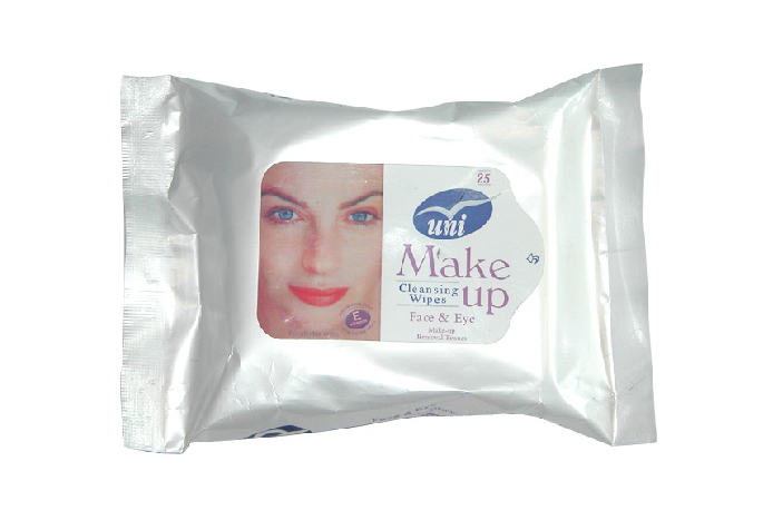 Makeup remover cleaning wet wipes