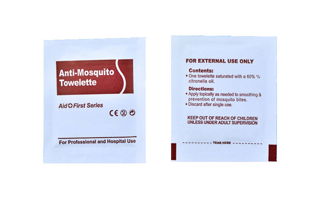 Anti Mosquito cleaning wet wipes