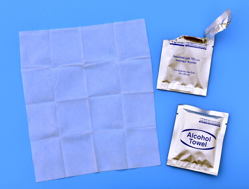 Industrial Wet Isopropanol alcohol wipes
