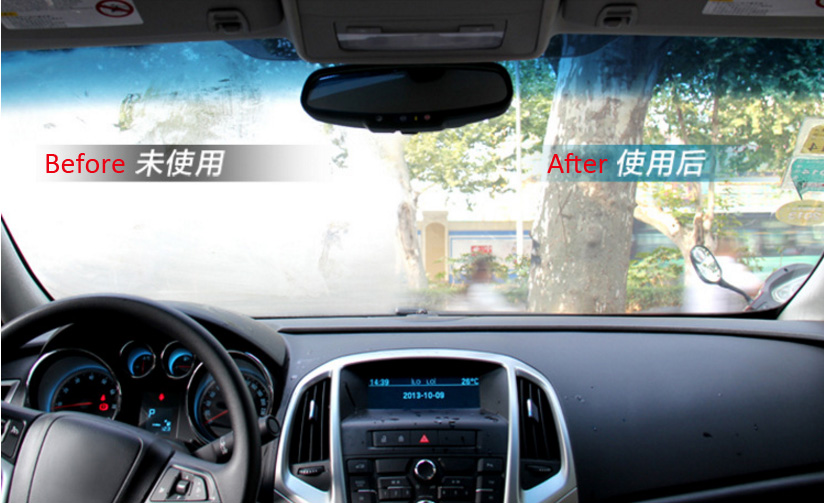Anti-fog wiper for car windscreen