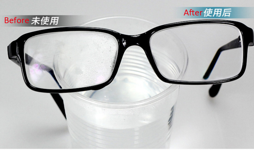 Anti-fog for glasses