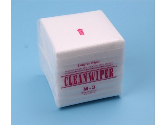 Nonwoven Cleanroom Wiper