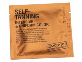 self tanning wet wipe
