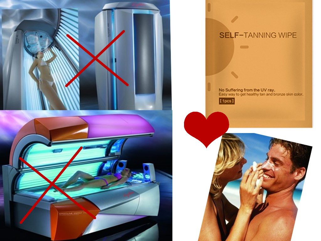 tanning product choice