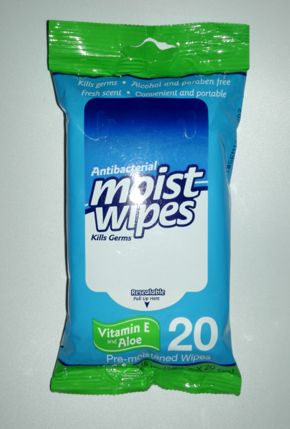 Office Antibacterial moist wipes