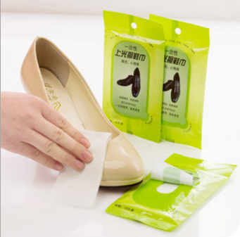 shoes cleaning polish wet wipes