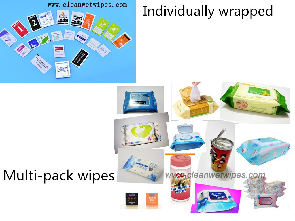 Wet wipes manufacturer from China
