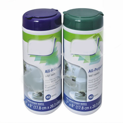 Disinfectant Antibacterial Wipes in canister