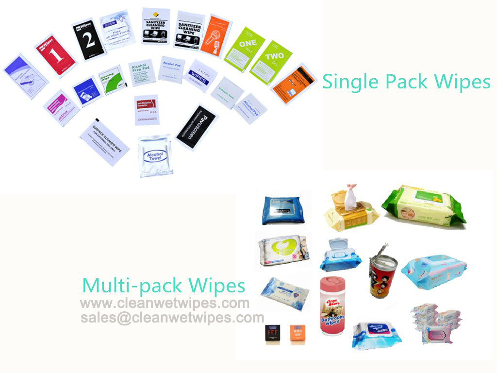 Private label service for wet wipes