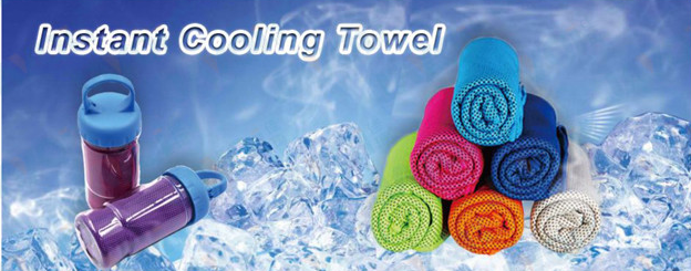 Quick dry microfiber Instant cooling towels