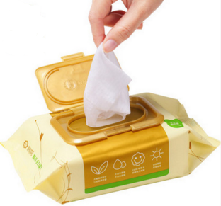 antibacterial wet Flushable wipes