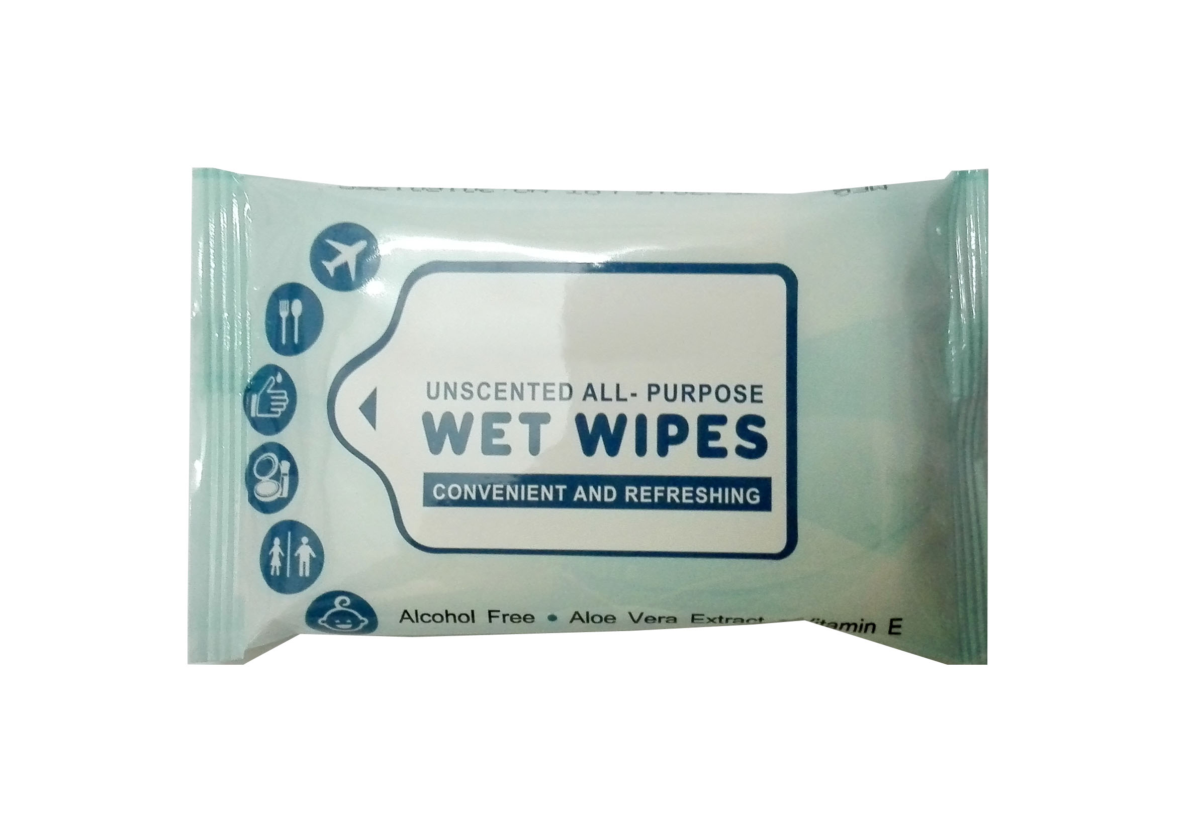 all purpose use cleaning wet tissue