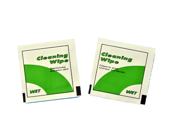 Computer screen cleaning wet wipes