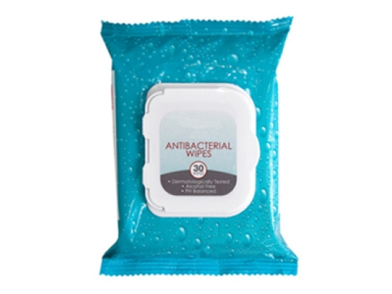 Hand skin disinfectant wipes