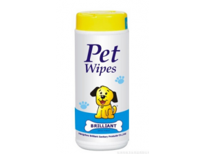 Pet care cleaning tissue