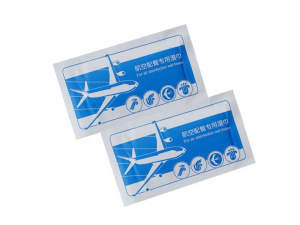 Airline disinfectantion cleaning wet tissue