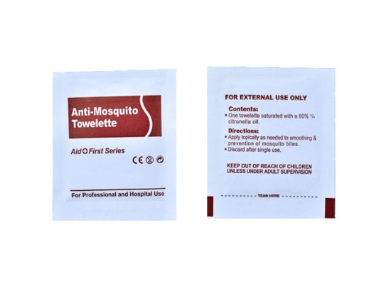 Anti Mosquito cleaning wipes