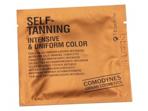 The Self Tanning Wet wiper for bronze skin color