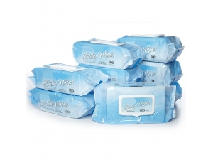 Skincare non-woven baby wipes
