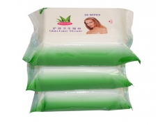 Intimate cleaning wet wipes