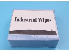 Blue Industrial Degreasing Nonwoven Wipes