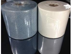 Jumbo Rolls packing automotive blue clean cloth