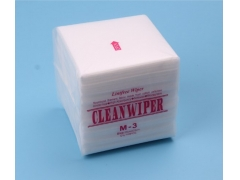 Disposable Lint free Spunlaced Nonwoven Cleanroom M3 Wipes