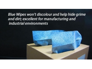 Boxed Automotive Blue Cleaning Wipes