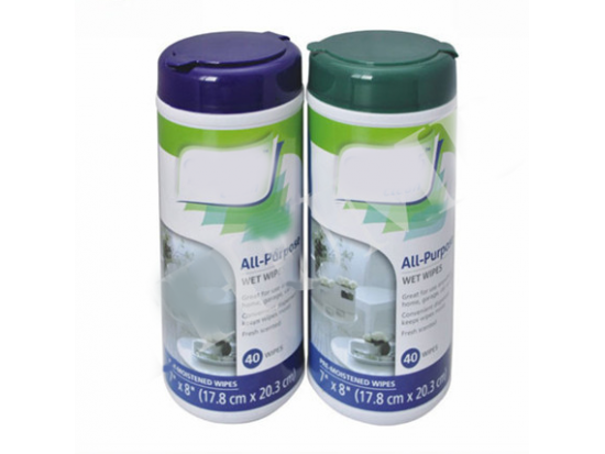 Hand Sanitizer Disinfecting Wipes in Canister