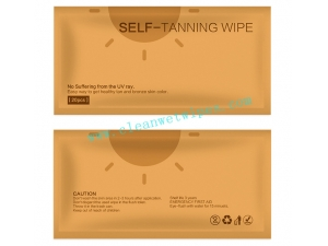 Sunless Bronze self-tan wet wipes