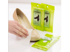 Instant Shoe Shine Cleaning Wipes