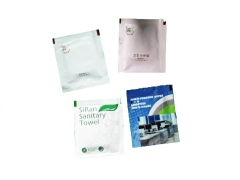 Eco-friendly 100% Cotton single wet wipes