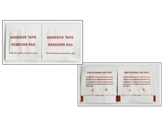 Adhesive Tape Remover wipes
