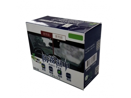 windsheild Anti fog wet wipes