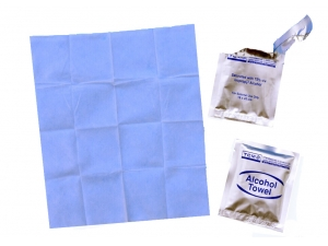 Isopropyl Alcohol cleaning wet wipes