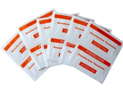 Disposable disinfectant alcohol free wipes