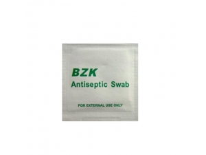 Medical antiseptic swabs