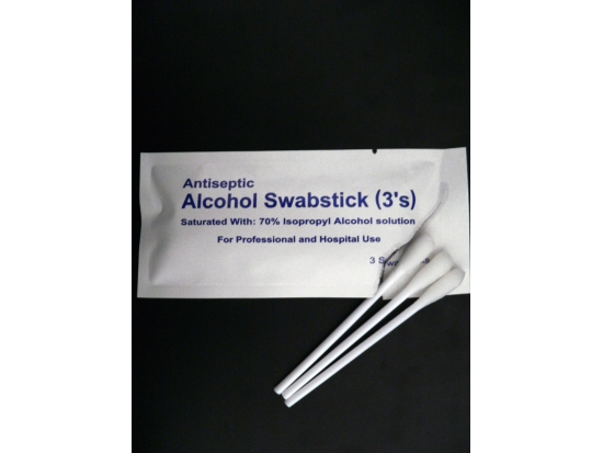 Surgical Chlorhexidine and Isopropyl Alcohol swabs