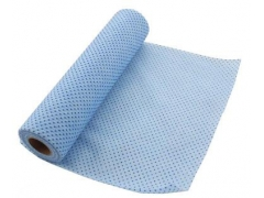 Plastic Dot coated roll wipes