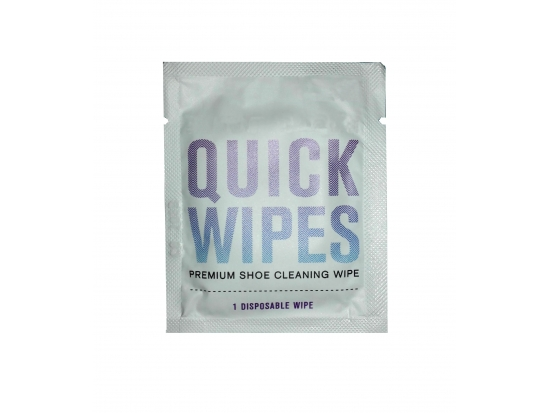 Dot nonwoven shoe cleaning wipes