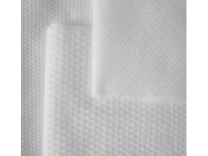 Comfortable Pearl Grain Texture Nonwoven Cleaning Wiper