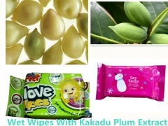 Wet Wipes With Kakadu Plum Extract