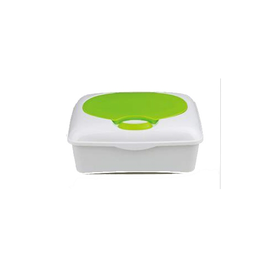 Wet Wipes box with silicone sealing
