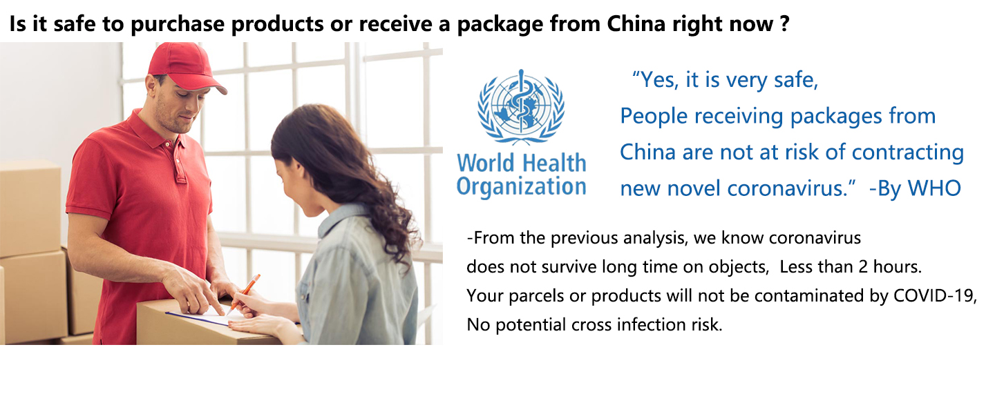 It safe to receive the package from China