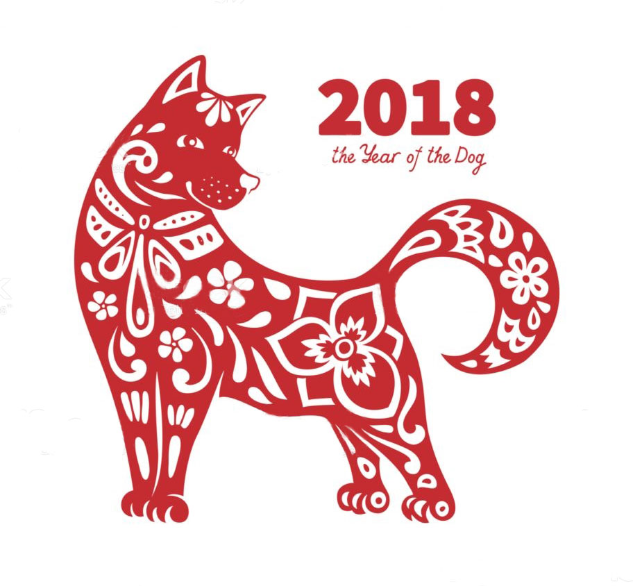 Happy 2018 ! The Year of the Dog Celebration